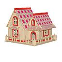ieftine Machiaj & Îngrijire Unghii-Puzzle 3D Μοντέλα και κιτ δόμησης Modele de Lemn Clădire celebru Lemn Unisex Jucarii Cadou