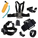 cheap Accessories For GoPro-Sports Action Camera / Chest Harness / Front Mounting Multi-function / Foldable / Adjustable For Action Camera Gopro 6 / All Gopro / Xiaomi Camera Diving / Surfing / Ski / Snowboard Cotton / EVA / ABS