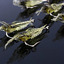 preiswerte Angelruten-10 pcs Weiche Fischköder / Gummifische / Haken / Angelköder Weiche Fischköder / Gummifische / Jerkbaits / Flusskrebse / Garnele Weicher Kunststoff / Silikon Seefischerei / Fliegenfischen / Köderwerfen