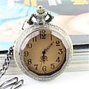 hesapli Erkek Saatleri-Erkek Quartz Bilek Saati Cep kol saati Gündelik Saatler Alaşım Bant Zarif Moda Gümüş