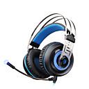 hesapli LED Araba Ampulleri-A7 Kulak Üzerinden / Saç Bandı Kablolu Kulaklıklar Dinamik Plastik Oyunlar Kulaklık Gürültü izolasyon / Mikrofon ile / Ses Kontrollü kulaklık
