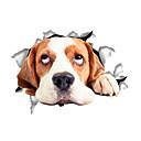 tanie Dekoracyjne naklejki-Zwierzęta Moda Rysunek Naklejki Naklejki ścienne lotnicze Dekoracyjne naklejki ścienne Naklejki toaleta, Winyl Dekoracja domowa Naklejka