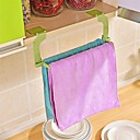 Недорогие Всё для хранения на кухне-1шт бесшовная паста перфорация бесплатно полотенце стойка висит полотенце кухня туалет ванная комната полотенце стойки случайный цвет