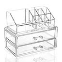 저렴한 메이크업 & 네일 케어-메이크업 도구 화장품 보관함 구성하다 아크릴 정방형 일상 화장품 미용 용품