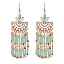 preiswerte Ohrringe-Damen Tropfen-Ohrringe - damas Einzigartiges Design Retro Schmuck Grün / Blau / Regenbogen Für Party Alltag Normal