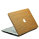 halpa MacBook-kotelot & MacBook laukut & MacBook suojat-MacBook Kotelo Wood Grain polykarbonaatti varten Macbook