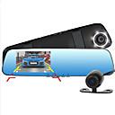 hesapli Telsizler-d990 1080p / Full HD 1920 x 1080 Araba DVR'si 170 Derece Geniş açı 4.3 inç Dash Cam ile Hareket Algılama 6 kızıl ötesi LEDler Araba Kaydedici