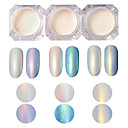 voordelige Make-up & Nagelverzorging-1 / doos Schitteren Voor Vingernagel Teennagel Nagel kunst Manicure pedicure Klassiek Dagelijks