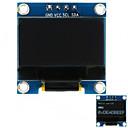 abordables Luces LED de Doble Pin-0.96 128x64 i2c interfaz de color blanco módulo de visualización oled para arduino