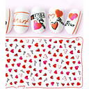 cheap Makeup & Nail Care-1 pcs 3D Nail Stickers nail art Manicure Pedicure Fashion Daily
