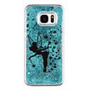 preiswerte Galaxy S Serie Hüllen / Cover-Hülle Für Samsung Galaxy S8 Plus S8 Mit Flüssigkeit befüllt Transparent Muster Rückseite Schmetterling Durchsichtig Glänzender Schein Hart