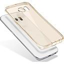 رخيصةأون حافظات / جرابات هواتف جالكسي J-غطاء من أجل Samsung Galaxy شبه شفّاف شفاف غطاء خلفي لون الصلبة ناعم TPU إلى S7