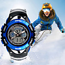 cheap Earrings-Men's Sport Watch Smartwatch Wrist Watch Digital 30 m Water Resistant / Water Proof Calendar / date / day Creative Silicone Band Analog-Digital Charm Fashion Dress Watch Multi-Colored - Red Green Blue