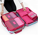 cheap Home Decoration-Textile Plastic Oval Novelty Multi-functional Home Organization, Six-piece Suit Storage Bags