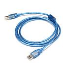 hesapli AC Adaptör ve Güç Kabloları-USB 2.0 Kablo, USB 2.0 to USB Tip B Kablo Erkek - Erkek 1.5M (5 ft)