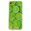 hesapli iPhone Kılıfları-Pouzdro Uyumluluk Apple iPhone 7 / iPhone 7 Plus Temalı Arka Kapak Meyve Yumuşak TPU için iPhone 7 Plus / iPhone 7 / iPhone 6s Plus