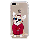 cheap iPhone Cases-Case For Apple iPhone X iPhone 8 Pattern Back Cover Dog Cartoon Soft TPU for iPhone X iPhone 8 Plus iPhone 8 iPhone 7 Plus iPhone 7