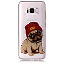 Χαμηλού Κόστους Θήκες / Καλύμματα Galaxy S Series-tok Για Samsung Galaxy S8 Plus / S8 IMD / Με σχέδια Πίσω Κάλυμμα Σκύλος / Λάμψη γκλίτερ Μαλακή TPU για S8 Plus / S8 / S7 edge