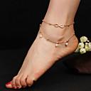 hesapli Fırın Araçları ve Gereçleri-Ayak bileziği - Damla Moda Altın Uyumluluk Günlük / Serbest Sporlar / Kadın's