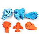 hesapli Makyaj ve Tırnak Bakımı-Bakeware araçları Plastikler Çocuklar / Kendin-Yap Kek Çerez Araçları
