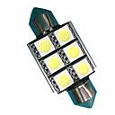 hesapli LED Araba Ampulleri-2pcs Festoon Araba Ampul 3W SMD 5050 300lm LED Aksesuarlar