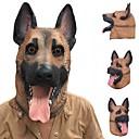 billige Mode Halskæde-Ny kølig ulv hund fuld ansigtsmaske halloween gaver miljøvenlig natur latex livlig hund hoved maske til cosplay fest dress up