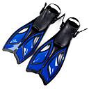 hesapli Fırın Araçları ve Gereçleri-Dalış Fins / Yüzme Paletleri Uzun Bıçak, Ayarlanabilir Askı Yüzme, Dalış, Şnorkelcilik Silikon, Eko PC, Karışık Materyal - için Yetişkinler Mavi / Pembe / Transparan