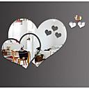 tanie Dekoracyjne naklejki-Dekoracyjne naklejki ścienne - Naklejki ścienne 3D / Lustro Lustra Living Room / Sypialnia / Pokój dziewczynki / Nadający się do prania