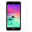 hesapli LG İçin Ekran Koruyucuları-Ekran Koruyucu LG için LG K10 (2017) Temperli Cam 1 parça Ön Ekran Koruyucu 2.5D Kavisli Kenar 9H Sertlik Yüksek Tanımlama (HD)