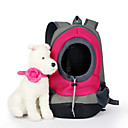 cheap Dog Clothing & Accessories-Cat / Dog Carrier & Travel Backpack Pet Baskets Solid Colored Portable / Breathable Green / Blue / Pink For Pets