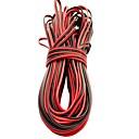 ieftine Set Becuri-5m led linie de cablu prelungire cablu pentru smd 8mm 3528 10mm 5050 5630 unică culoare 2pin impermeabil condus benzi lumina cablu conector