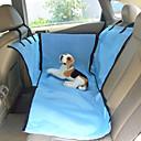 זול אספקה וטיפוח-כלב כיסוי מושב לרכב חיות מחמד סלסלות בז' כחול