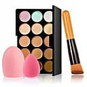 billige Armbånd-15 farver Makeup Set Concealer / Contour Makeupbørster 4 pcs Tør Concealer Voksen / Daglig # Professionelt niveau Makeup Kosmetiske