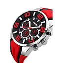 cheap Men's Watches-Men's Sport Watch Smartwatch Wrist Watch Digital 30 m Water Resistant / Water Proof Calendar / date / day Creative Silicone Band Analog Charm Fashion Dress Watch Multi-Colored - Red Green Blue Two