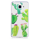 voordelige Galaxy A-serie hoesjes / covers-hoesje Voor Samsung Galaxy A5(2017) A3(2017) IMD Transparant Patroon Achterkant Bloem Zacht TPU voor A3 (2017) A5 (2017) A5(2016) A3(2016)