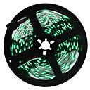 Недорогие LED ленты-HKV 5 метров Гибкие светодиодные ленты 300 светодиоды 5050 SMD RGB Можно резать / Самоклеющиеся 12 V