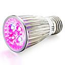 tanie Żarówki filament LED-1szt 800lm E14 GU10 E27 Rosnąca żarówka 4 Koraliki LED High Power LED Niebieski Czerwony 85-265V