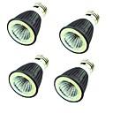 ieftine Becuri LED Bi-pin-4PCS 7W 550 lm Spoturi LED MR16 1 led-uri COB Decorativ Alb Cald Alb Rece AC220