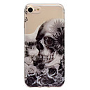 cheap Galaxy J Series Cases / Covers-Case For Apple iPhone 7 / iPhone 7 Plus IMD / Pattern Back Cover Skull Soft TPU for iPhone 7 Plus / iPhone 7 / iPhone 6s Plus