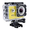 ieftine Cameră Foto, Fotografie, Video & Accesorii-SJ7000 / H9K Cameră Acțiune / Cameră sportivă GoPro Vlogging Rezistent la apă / Wifi / 4K 32 GB 60fps / 30fps / 24fps 12 mp Nu 2592 x 1944 Pixel / 3264 x 2448 Pixel / 2048 x 1536 Pixel Scufundare