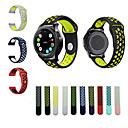 hesapli Telefon Kabloları ve Adaptörleri-Watch Band için Gear S3 Frontier Gear S3 Classic Samsung Galaxy Spor Bantları Silikon Bilek Askısı