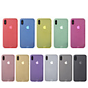 cheap Earrings-Case For Apple iPhone X iPhone 8 Ultra-thin Back Cover Solid Color Hard PC for iPhone X iPhone 8 Plus iPhone 8 iPhone 7 Plus iPhone 7