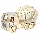ieftine Ustensile & Gadget-uri de Copt-Puzzle 3D Modele de Lemn Vehicule Militar Mașină Stres și anxietate relief Model nou De lemn Contemporan Pentru copii Adulți Jucarii Cadou