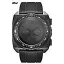 cheap Men's Watches-SINOBI Men's Sport Watch Military Watch Japanese Quartz 30 m Shock Resistant Cool Large Dial Silicone Band Analog Black - Black