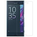 hesapli Sony İçin Ekran Koruyucuları-Ekran Koruyucu Sony için Sony Xperia XZ Temperli Cam 1 parça Ön Ekran Koruyucu 2.5D Kavisli Kenar 9H Sertlik Yüksek Tanımlama (HD)