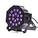 tanie Oświetlenie LED sceniczne-U'King 18W 18 Diody LED Oświetlenie sceniczne LED Fioletowy AC100-240