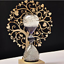 رخيصةأون Home Fragrances-الحديثة / المعاصرة خشب Candle Holders الشمعدانات 1PC, شمعة / حامل شمعة