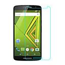 hesapli Motorola İçin Ekran Koruyucuları-Ekran Koruyucu Motorola için Moto X Play Temperli Cam 1 parça Ön Ekran Koruyucu 2.5D Kavisli Kenar 9H Sertlik Yüksek Tanımlama (HD)