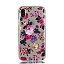 hesapli iPhone SE/5s/5c/5 İçin Ekran Koruyucular-Pouzdro Uyumluluk Apple iPhone X iPhone 8 iPhone 8 Plus Şeffaf Temalı Arka Kapak Çiçek Yumuşak TPU için iPhone X iPhone 8 Plus iPhone 8