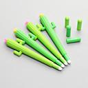 hesapli Çizim ve Yazı Aletleri-jel Kalem Kalem Jel Kalem Kalem, Silikon Siyah mürekkep Renkleri Uyumluluk Okul malzemeleri Ofis malzemeleri Pack 12 pcs